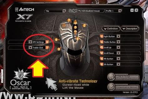 Mouse Macro X7 Spider Murah jual a4tech x7 xl747h macro gaming mouse motif spider di