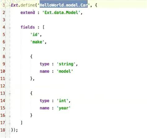 pocket setter definition sencha ext js tutorial an introduction to ext js 5