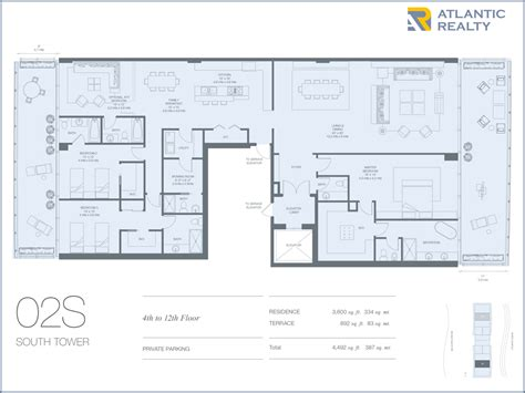 oceana key biscayne floor plans oceana key biscayne new miami florida beach homes