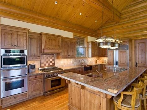 Kitchen Jackson Wy by 25 Best Images About Log Cabin Kitchens On