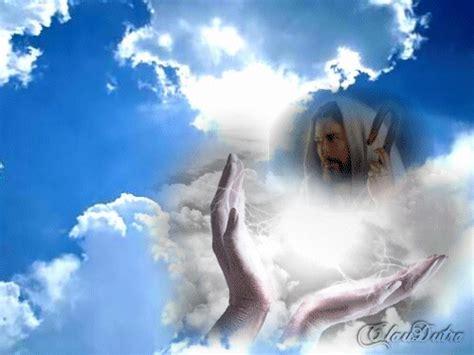 imagenes de jesus en el cielo jesus en las nubes el jardin de flor blanca gabitos