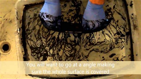 Oil Based Spray Paint Dipping | oil based dipping how to youtube