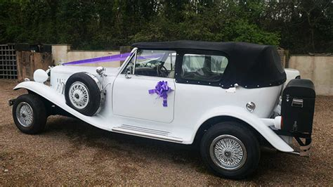 Wedding Car Ipswich by White Beauford Convertible Available To Book For Weddings