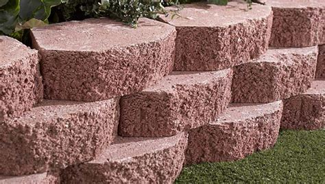 decorative blocks for garden wall how to build a retaining wall
