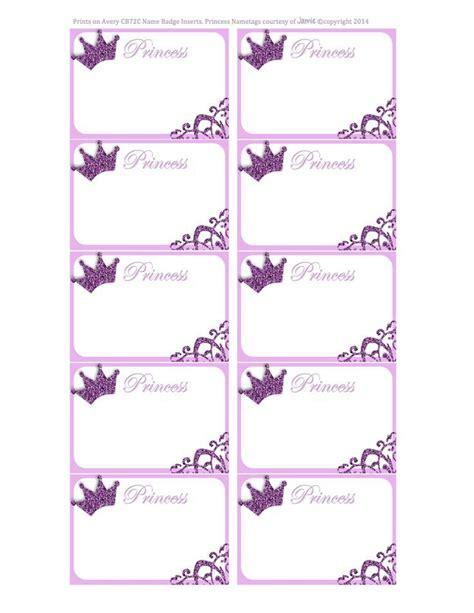 printable name tags pinterest free printable princess name tags diy and crafts