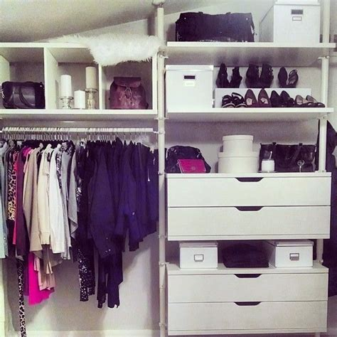 ikea open closet open closet closet pinterest