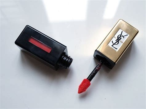 Ysl Glossy 1 ysl pur couture glossy stain pop water 207 review swatch fotd