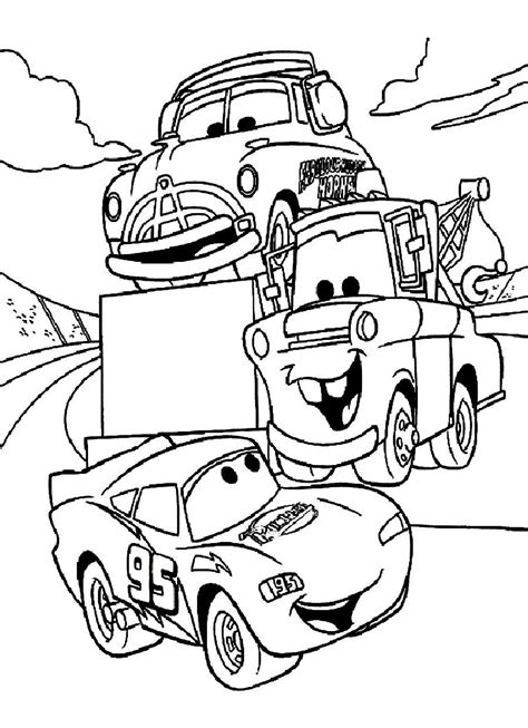 printable coloring pages vehicles disney cars coloring pages free large images arts
