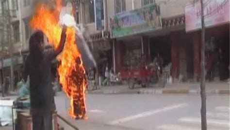 burning myself alive books tibet telegraph self imolations occupation and
