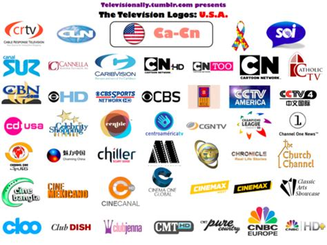 The American Channel Televisionally American Television Logos The Complete Collection