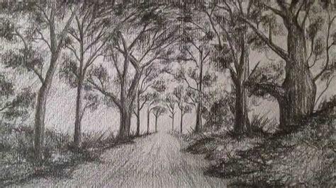 imagenes naturales estilizadas c 243 mo dibujar un sencillo paisaje a l 225 piz aprender a