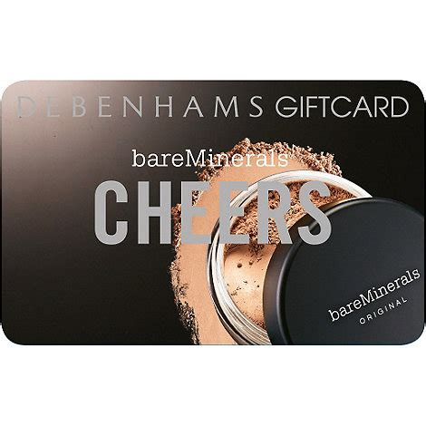 Bare Escentuals Gift Card - bareminerals bare minerals gift card debenhams