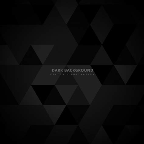 wallpaper vector dark abstract dark background with triangles vector free download
