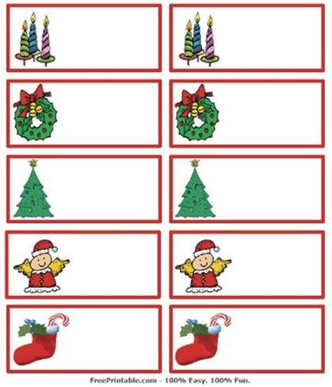 imagenes navideñas regalos tarjetas de navidad imprimibles para identificar los regalos