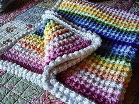 Crochet Popcorn Stitch Baby Blanket by Popcorn Stitch Blanket Free Pattern Crochet Ideas And