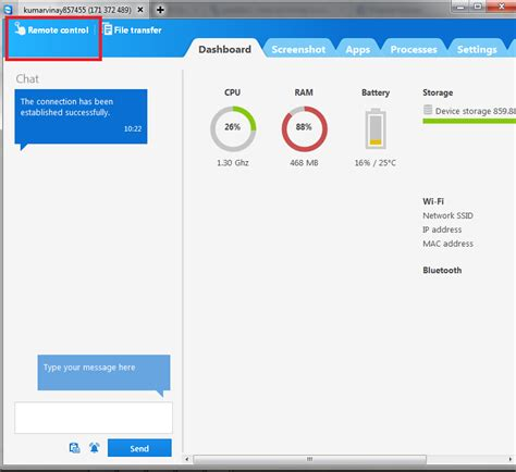 teamviewer mobile app how to android phone from pc using teamviewer