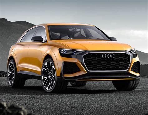 new audi concept car audi q8 sport concept flagship luxury suv specs revealed