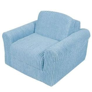 toddler sleeper chair furnishings chair sleeper blue chenille baby