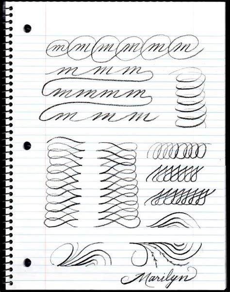 Fancy Cursive Handwriting Worksheets Loading