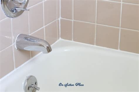 how caulk bathtub how to caulk a bathtub on sutton place
