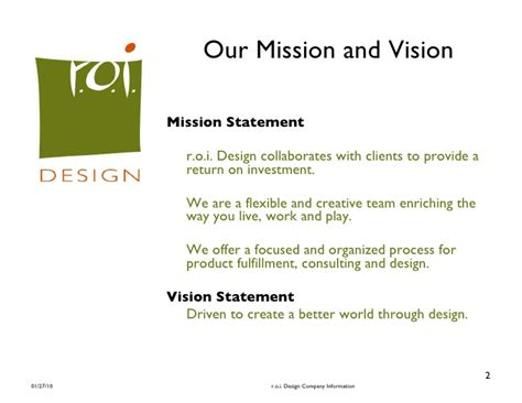 interior design mission statement sles www indiepedia org