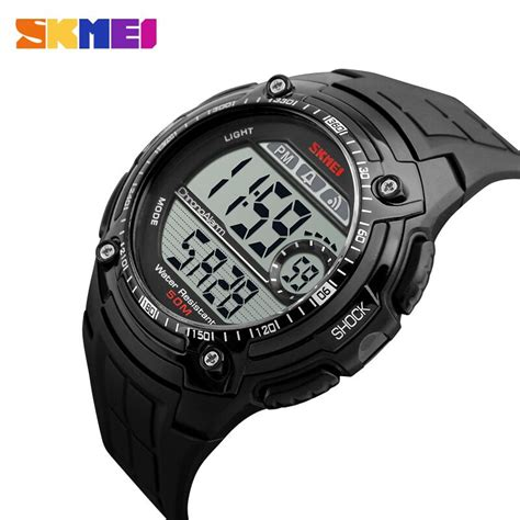 Jam Tangan Skmei S Shock Sport Dg1127 Black Blue skmei jam tangan dg1203 jgos black jakartanotebook