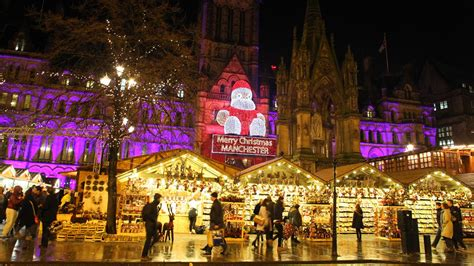 police step up patrols at manchester christmas markets