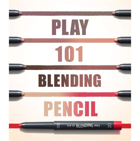 101 Play Pencil box korea etude house play 101 blending pencil 1