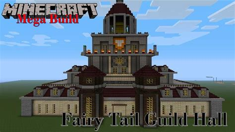 Minecraft Mega Build: Fairy Tail Guild Hall   YouTube