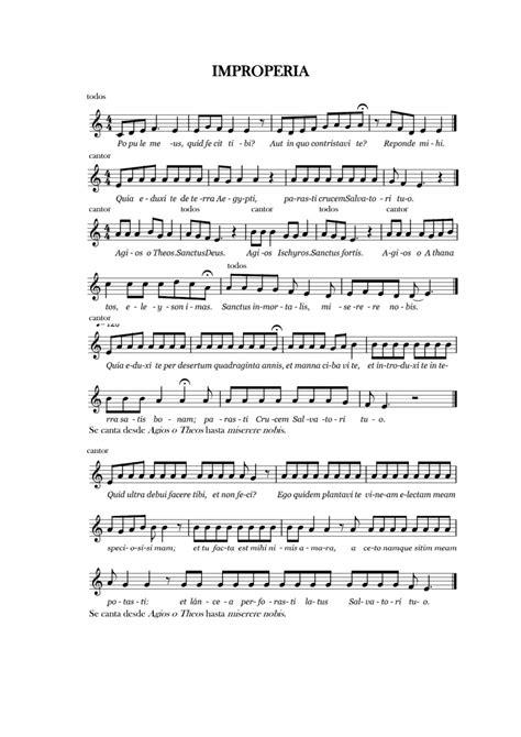 vorrei tornare indietro per un momento testo improperia venerd 236 santo una melodia pi 249 semplice per