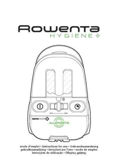 rowenta ro 6031 hygiene vacuum cleaner manual for free now 2bdd1 u manual