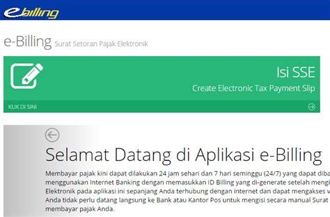 tahap membuat npwp online tata cara bayar pajak online di rumah paud baitul fiqri