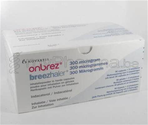 Onbrez Breezhaler 300mcg hoofdsite mypharma 3990 peer onbrez breezhaler 300 mcg 90 caps