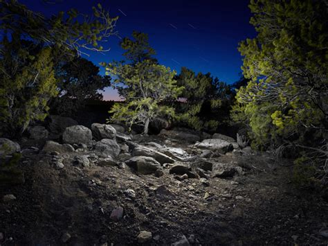 Light Painting Landscape Surreal Landscapes Lit With An Led Flashlight By Harold Ross Colossal