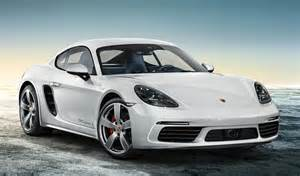 Porsche Cayman Porsche 718 Cayman Exclusive In Carrara White