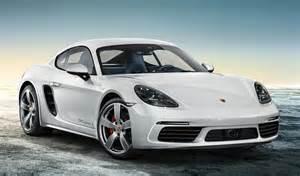 Porsche Caymen Porsche 718 Cayman Exclusive In Carrara White
