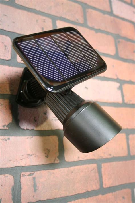 White High Output Solar Spot Light Yardbright Landscape High Output Solar Spot Light White Light