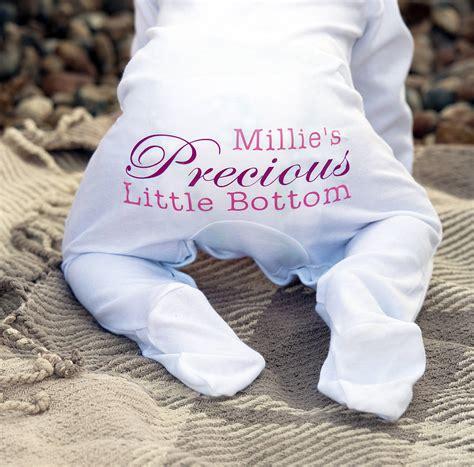 My Baby Grow personalised precious baby grow romper by precious