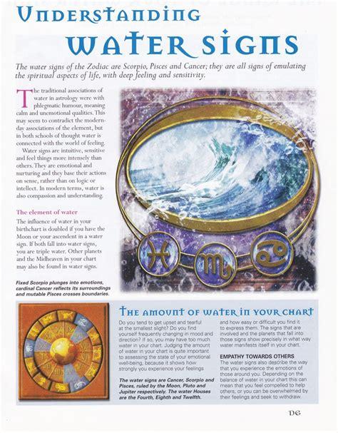 astrology understanding water signs zodiac pinterest