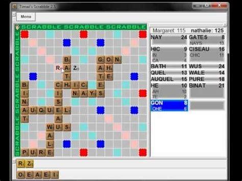 scrabble francais jeu de scrabble gratuit en fran 231 ais