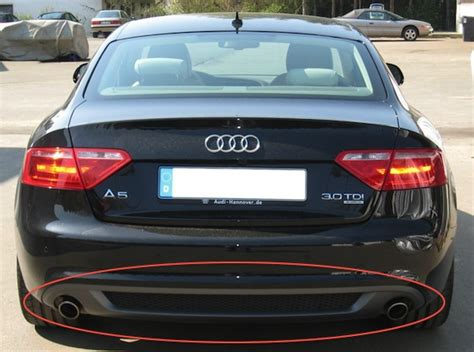 Audi A5 Diffusor by Need Help With Audi A5 Rear Diffuser