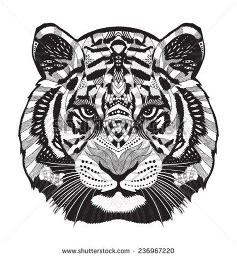 tiger mandala coloring pages 1000 ideas about tiger head tattoo on pinterest tiger