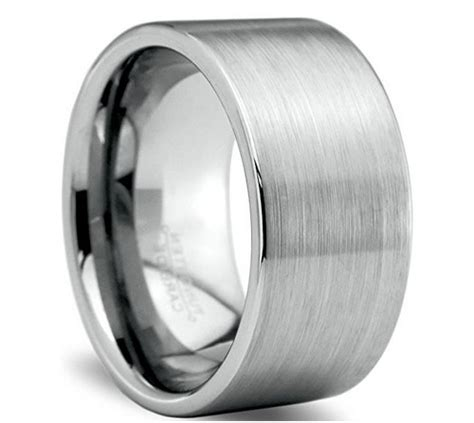 12mm tungsten wedding band for sang maestro