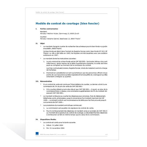 modele contrat de travail format word document