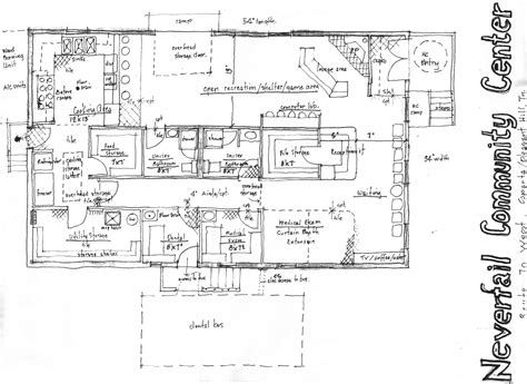 www floor plan design com community center floor plan