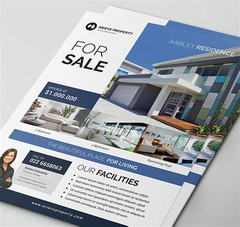 real simple design 40 professional real estate flyer templates