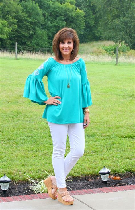 summer fashion for women over 40 grace beauty summer fashion over 40 boho inspired tunic grace beauty