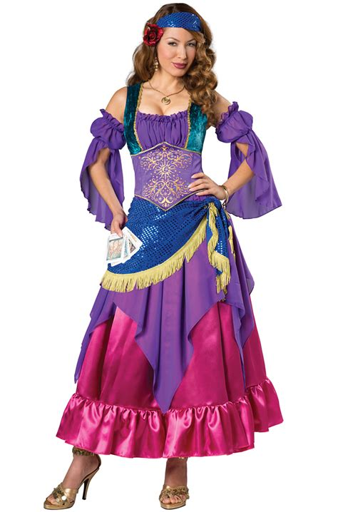 gypsy treasure adult costume purecostumescom