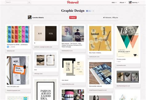 Pinterest Graphic Layout | 50 brilliant pinterest boards creative bloq