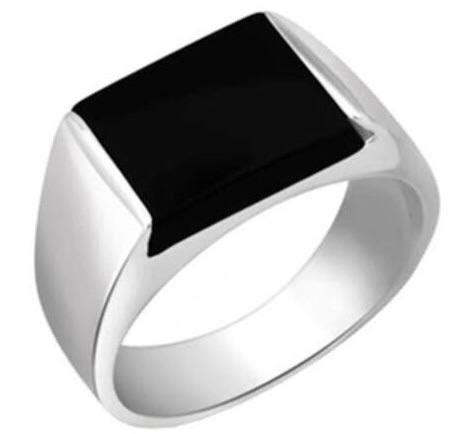 414 Black Onyx Doff 6mm buy platinum rings and bands in india page 2 jewelove